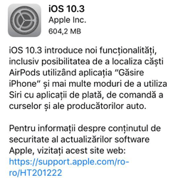 iOS 10 3