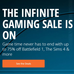 origin infinite gaming sale 2017
