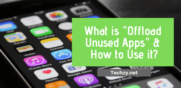 Offload Unused Apps