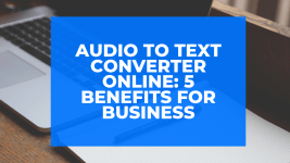 audio to text converter online