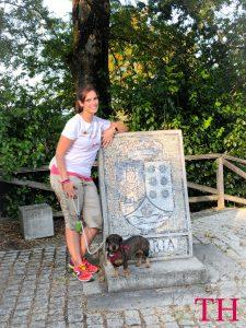 Camino Santiago con perro: Comienzo camino francés: Sarria