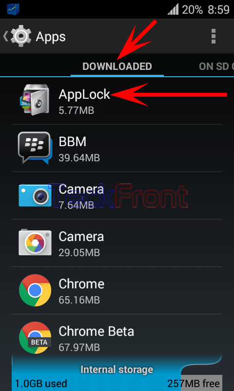 How to Move Downloaded Apps from Internal Storage to SD Card