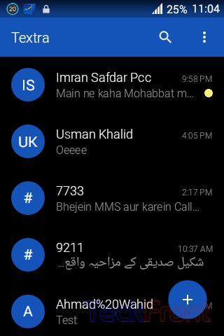 Textra-SMS-app