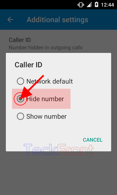 Setting Network Default Caller ID to Display in Android 5 1 Lollipop?