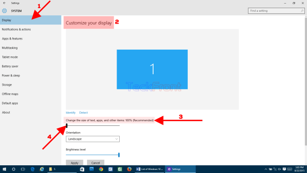 Windows10SettingsTextSize4
