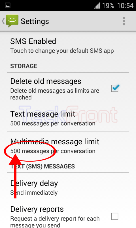 Android-Message-Limit-10