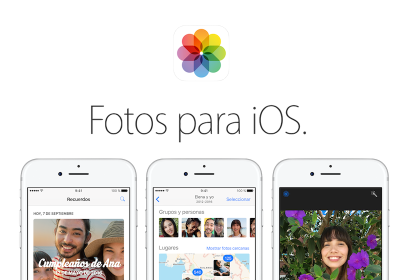Curso Fotos para iPhone y iPad