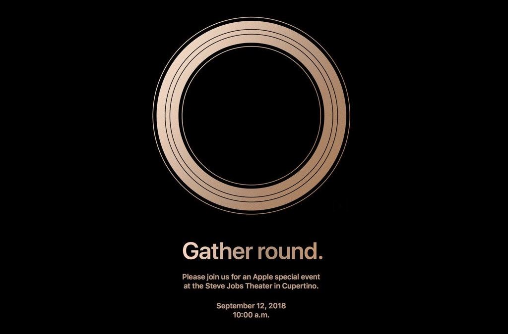 """Gather Round"": próxima keynote de Apple 12 de septiembre"