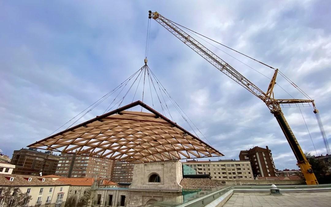 Vídeo de la cúpula del Monasterio de San Juan, en Burgos
