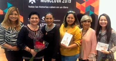 Maestras presentan su obra en la Feria del Libro Monclova 2019