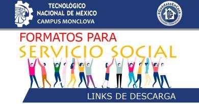 Formatos para Servicio Social