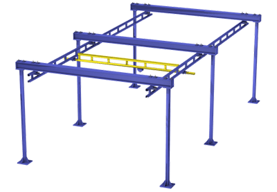 Floor Mounted Bridge Rail | TECNADirect.com