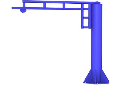 Free Standing Jib Crane   TECNADirect.com