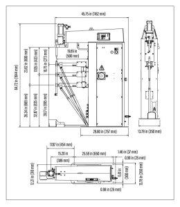 TECNA Press Welder Drawing 03 | TECNADirect.com