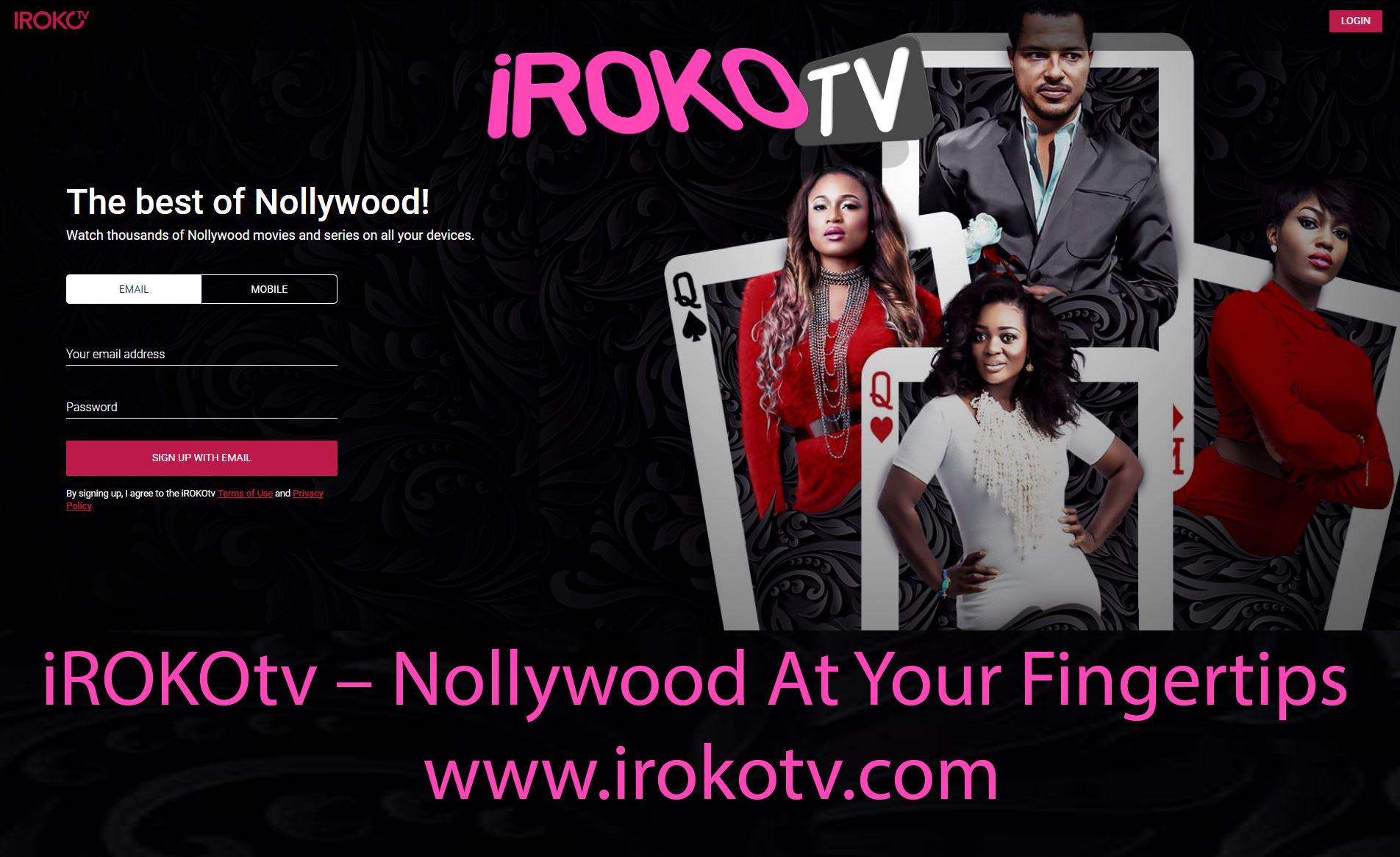 iROKOtv – Nollywood At Your Fingertips | www irokotv com - TecNg