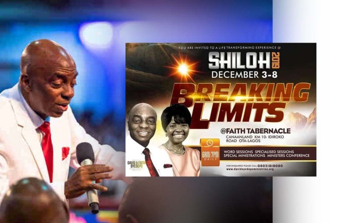 Shiloh 2019 Theme - Shiloh For Theme 2019 | Breaking Limits
