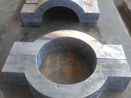 Piezas de plomo fundido
