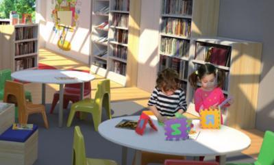 estanterías-colegios  - Mobiliario de Oficina