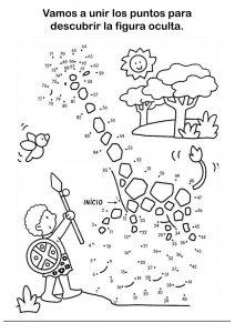 Fichas De Dibujos - Unir Puntos Para Niños