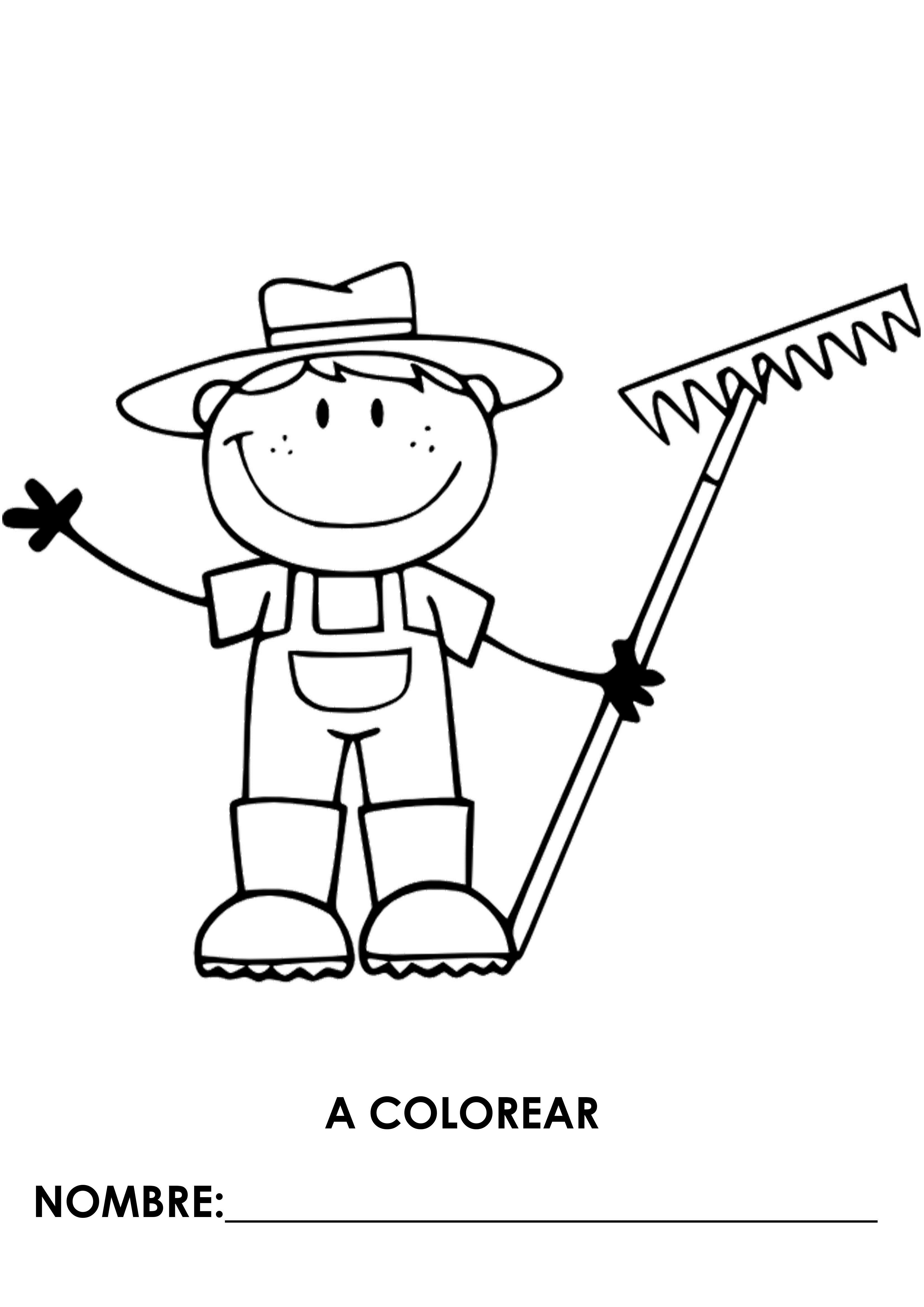 Profesiones Para Colorear Wiring Diagram Database