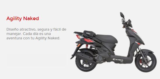 Moto Kymco Agility Naked de Auteco
