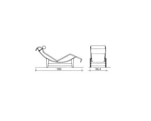 chair design by le corbusier and a half power recliner corbusier, mobiliario para villa church   tecnne - arquitectura y contextos