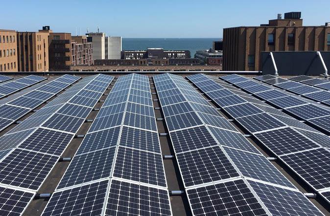 Orientación Este-Oeste de una instalación fotovoltaica