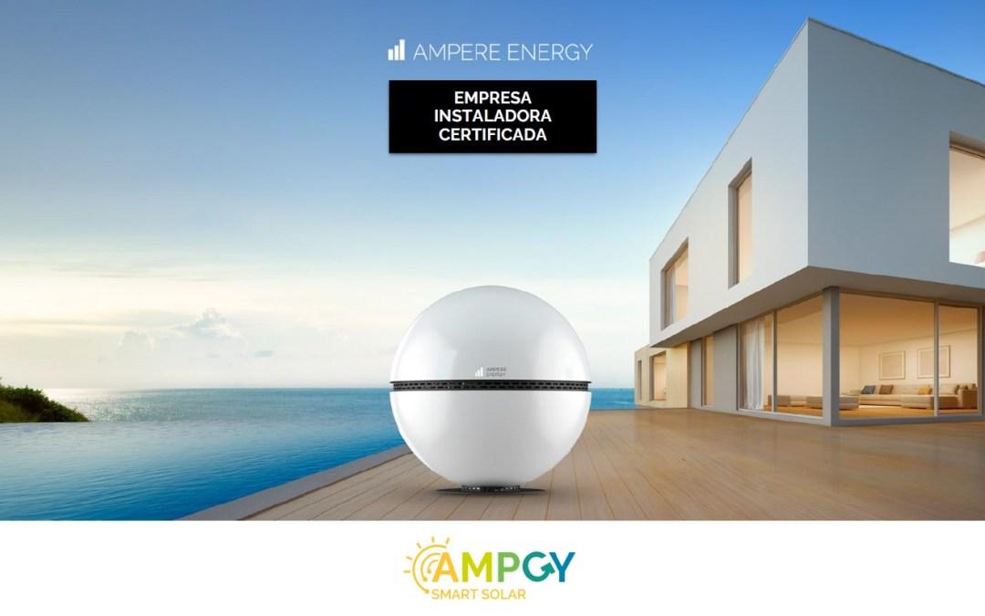 Instaladores Certificados de sistemas Ampere Energy