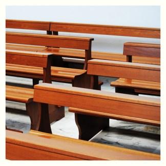 Panche da chiesa in legno
