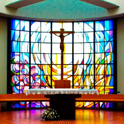 Vetrate artistiche per chiese