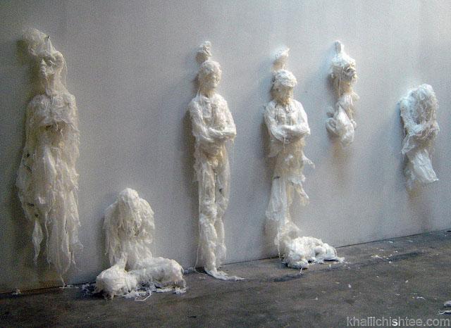 Esculturas de bolsas de plstico  TECNOARTESNET