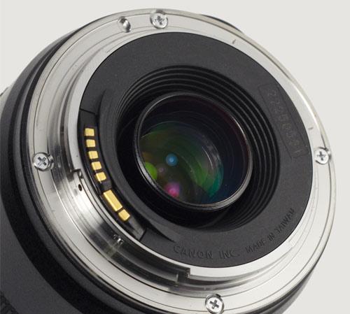 Montura de lente EF de Canon