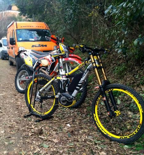 Moto Trip 2015 e-Bike MTB Haibike Sduro Tecno Bike Tema