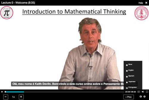 Introdução ao Pensamento Matemático