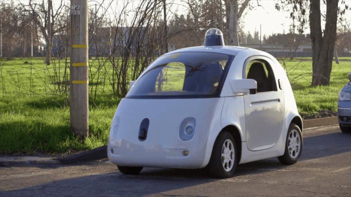 Esse é o carro autônomo do Google, projeto que agora vai ser comandado pela Alphabet.