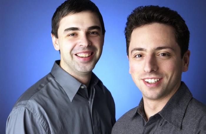Larry Page e Sergey Brin agora comandarão a Alphabet.
