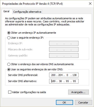 redes config windows 2 - Tutorial: Altere as configurações de DNS e acelere sua conexão
