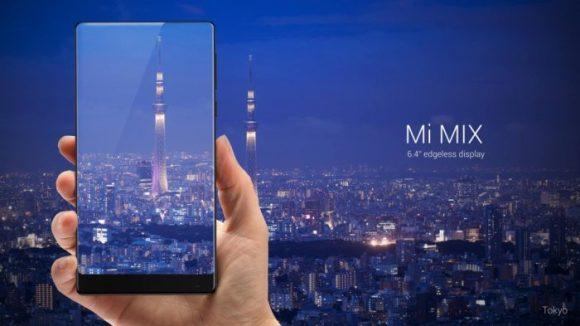Xiaomi lança Mi Mix e a segunda geração do Mi Note., Android, lançamentos, samrtphones, phablets, xiaomi