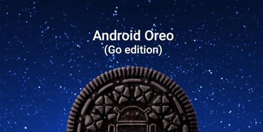 Android Oreo(versão GO)