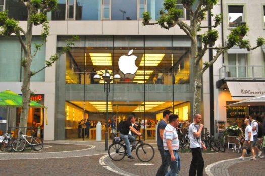 Apple Store em Frankfurt (Foto: Wikimedia Commons)