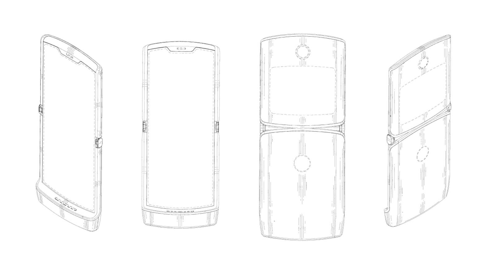 Motorola Razr: este pode ser o design do celular com tela