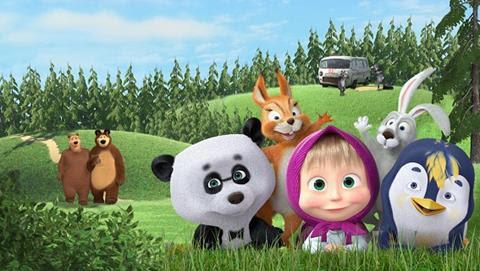 Masha e o Urso / Netflix