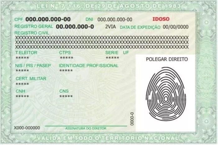 Novo RG traz QR Code e dados de até 12 documentos – Brasil