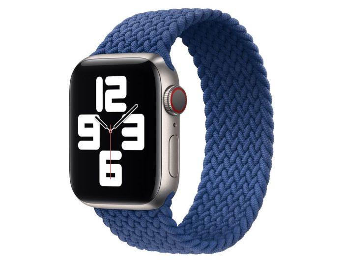 Apple Watch Series 6 com pulseira Loop Solo Trançada (Imagem: Divulgação/Apple)