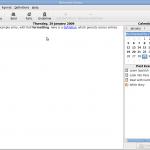 The main window of version 0.6.0.