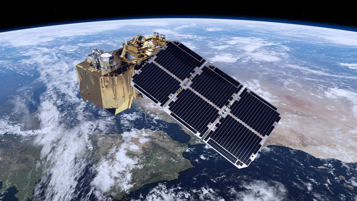 Resultado de imagem para El satélite Sentinel-2B