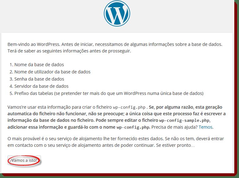 instalar wordordpress no mamp