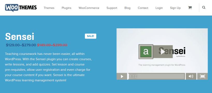 criar cursos online com WordPress