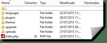 Como actualizar wordpress usando ftp