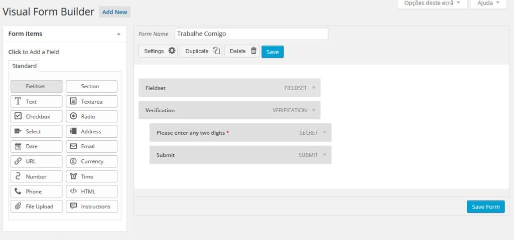Como Criar Um Formulário no WordPress